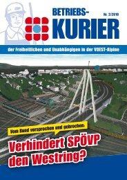 Verhindert SPÖVP den Westring? - Freiheitliche Arbeitnehmer