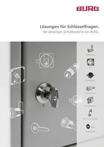 Lösungen für Schlüsselfragen. - BURG F.W. Lüling KG