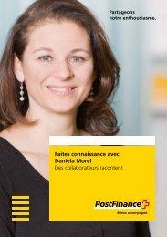 Faites connaissance avec Daniela Morel - Des collaborateurs ...