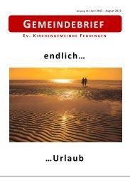 06.2013-08.2013 - Kirchenkreis Wittgenstein