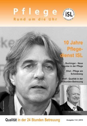 PRU Ausgabe 1 / 2010 - Pflegedienst ISL