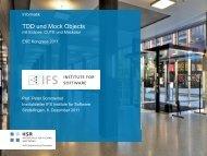 TDD und Mock Objects - HSR-Wiki