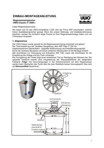 EB-MA_ASP_RegenwasserSpeicher_UWO_IT3500 - Birchmeier AG