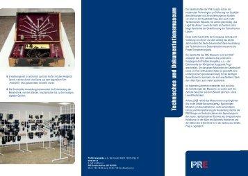Technisches und Dokumentationsmuseum - Pražská energetika, as