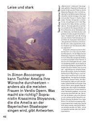 Interview mit Krassimira Stoyanova - Bayerische Staatsoper