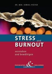 Stress und Burnout - Seminarheft Psychiatrie und ... - morandcoaching