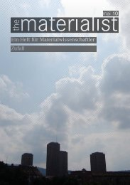 Ein Heft für Materialwissenschaftler Zufall mai 10 - SMW - ETH Zürich