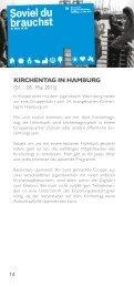 Kirchentag Hamburg - Evangelisches Jugendwerk Neuenstadt