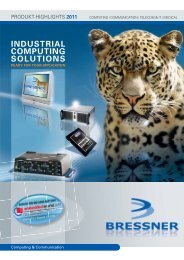 INDUSTRIAL COMPUTING SOLUTIONS - BRESSNER Technology ...