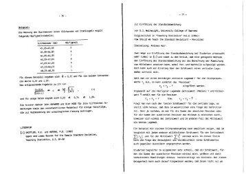 - 36 - Die Messung der Durchmesser einer stichprobe von Stahl ...