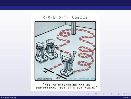 ROS - Eine Einführung in das Robot Operating System