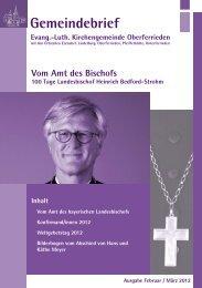 Gemeindebrief - Evangelisch-Lutherische Kirchengemeinde ...