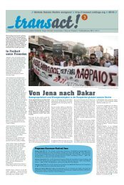 Von Jena nach Dakar - transact! - Noblogs