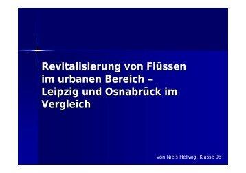 Vortrag von Nils Helwig