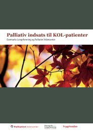 Download rapporten - Palliativt Videncenter
