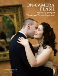 On-Camera Flash Techniques for Digital Wedding and Portrait ...