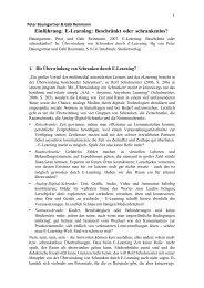 Einführung: E-Learning: Beschränkt oder schrankenlos? - Peter ...