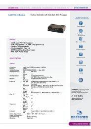 AA Bt-6612-Series Datenblatt - BRESSNER Technology Gmbh