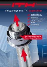 Vorspannen mit ITH-Zugmutter - ITH-GmbH