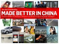 made better in china - Trendwatching
