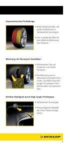 offiziellen DUNLOP Flyer lesen. - European Speed Club - Seite 5