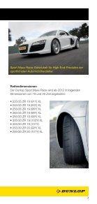 offiziellen DUNLOP Flyer lesen. - European Speed Club - Seite 7