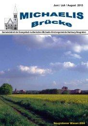 Juni_Brücke2013n - Kirche Süderelbe