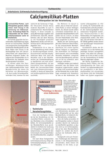 calciumsilikat magazine