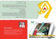 Der goldene Seelenbohrer - KJG Diözesanverband Paderborn