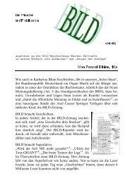 Wie auch in Katharina Blum beschrieben, übt in ... - Bihler Online