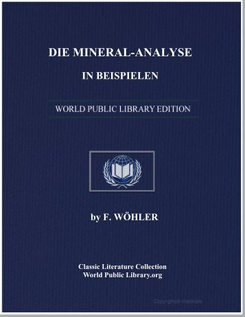 DIE MINERAL-ANALYSE IN BEISPIELEN - World eBook Library