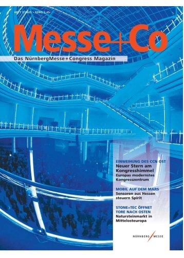 Das NürnbergMesse+Congress Magazin - Suesswarenversand.de