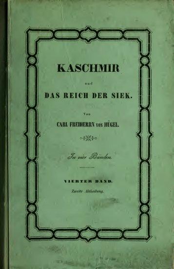 Kaschmir und das Reich der Siek - University of Toronto Libraries