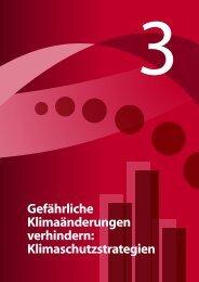Gefährliche Klimaänderungen verhindern: Klimaschutzstrategien