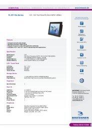 FL Bt-78x-Fan-Series Datenblatt - BRESSNER Technology Gmbh