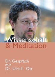Ein Gespräch mit Dr. Ulrich Ott - VIVEKA - Hefte für Yoga