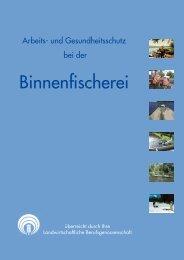 Arbeits- und Gesundheitsschutz bei der Binnenfischerei - SVLFG