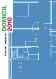 Tätigkeitsbericht 2010 (PDF) - Domicil