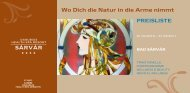 Wo Dich die Natur in die Arme nimmt - Danubius Hotels Group