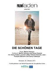 SCHOENEN TAGE_Presseheft - Filmladen