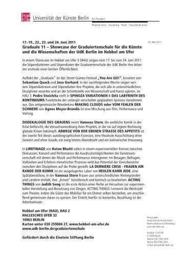 Graduale 11 .pdf - hebbel am ufer