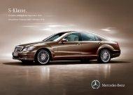 Preisliste Mercedes-Benz S-Klasse Limousine (W/V221) vom 01.10.2010.