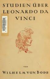 Studien über Leonardo da Vinci - Warburg Institute