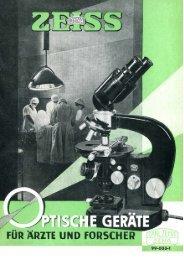 Optische Geraete für Aerzte und Forscher - Optik-Online