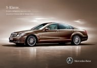 Preisliste Mercedes-Benz S-Klasse Limousine (W/V221) vom 14.10.2010.