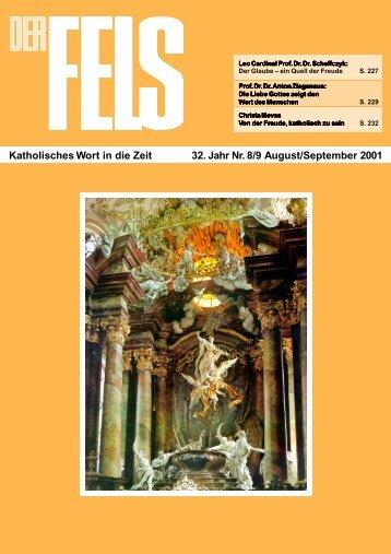 August/September 2001 - Der Fels