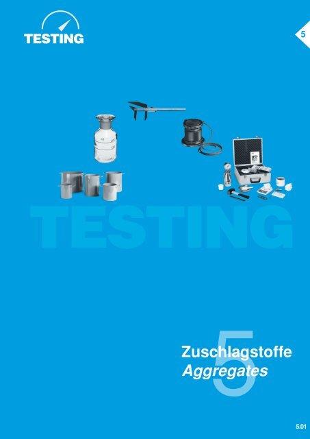 Aggregates - testing.de