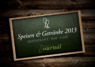 Speisekarte 2013 (PDF) - Restaurant in Potsdam – Das Journal
