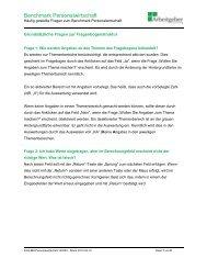 FAQ-BM-Personalwirtschaft - Südwestmetall