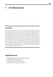 1 Verteilte Systeme - dpunkt.verlag
